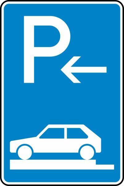 Parken auf Gehwegen Ende Nr. 315-82 nach STVO