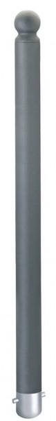 Stahlpoller CITYTREND, Ø76mm, ortsfest, verschiedene Kopfvarianten, zum Einbetonieren