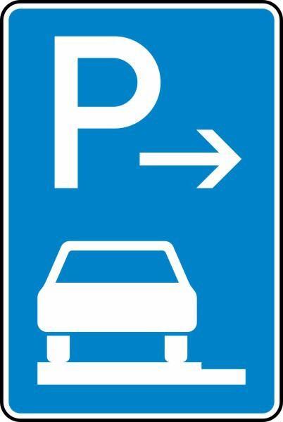 Parken auf Gehwegen Anfang Nr. 315-61 nach STVO