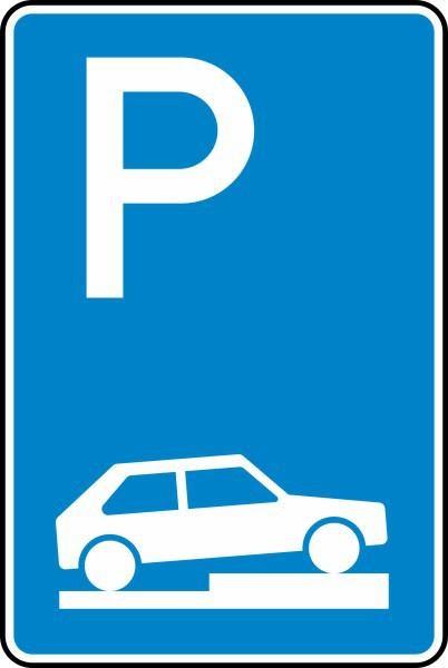 Parken auf Gehwegen Nr. 315-75 nach STVO