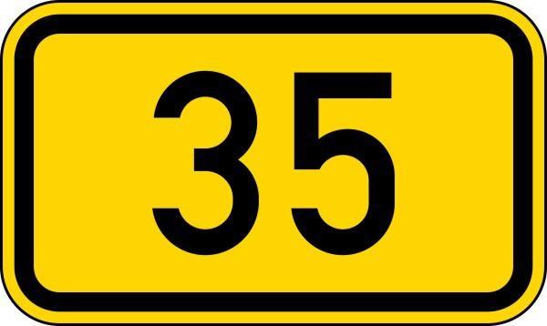 Bundesstraßen Nr. 401 nach STVO