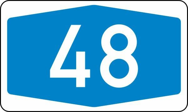 Autobahnen Nr. 405 nach STVO