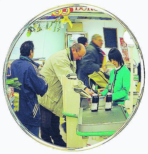 Große Überwachungsspiegel Vialux®, in Polymir®-Qualität, Ø 800 mm
