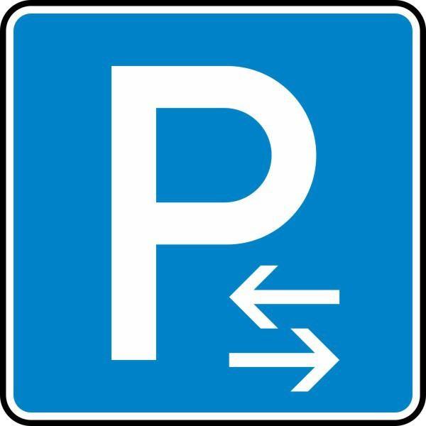 Parken Mitte (Rechts- oder Linksaufstellung) Nr. 314-30 nach STVO