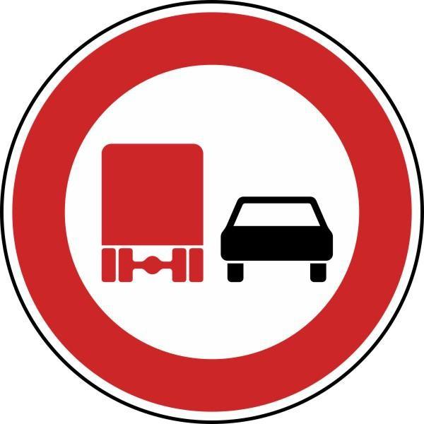 Überholverbot für Kraftfahrzeuge über 3,5 t Nr. 277 nach STVO