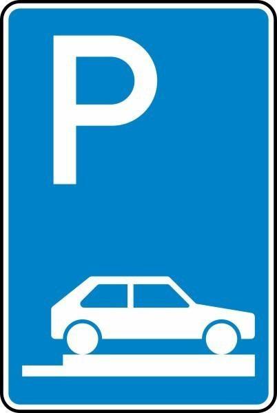 Parken auf Gehwegen Nr. 315-85 nach STVO