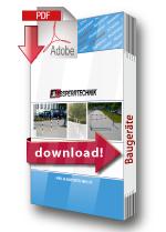Baugeräte Katalog downloaden